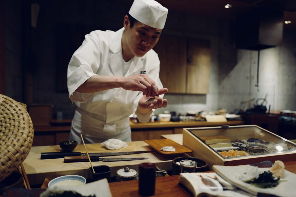 Essen in Tokyo
